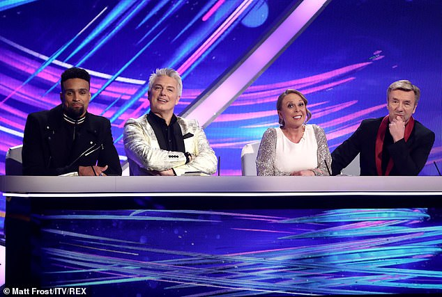 New series: 'Touch wood that everything happens as normal because right now we're not sure that everything's going to happen as it should... but I'm really excited for it to come back' (pictured with his fellow DOI judges in February)
