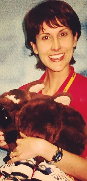 THEN: Natalie at the Sydney Olympics in 2000