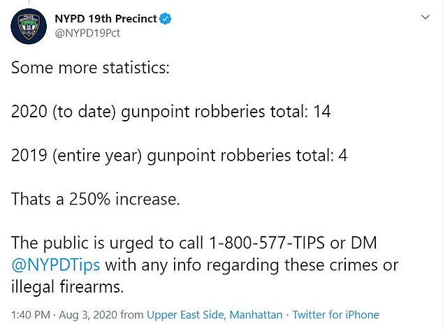The NYPD is pleading with members of the public to come forward with information on recent shootings in the Upper East Side