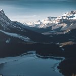 Photos show hypnotic beauty of Canada's Banff National Park