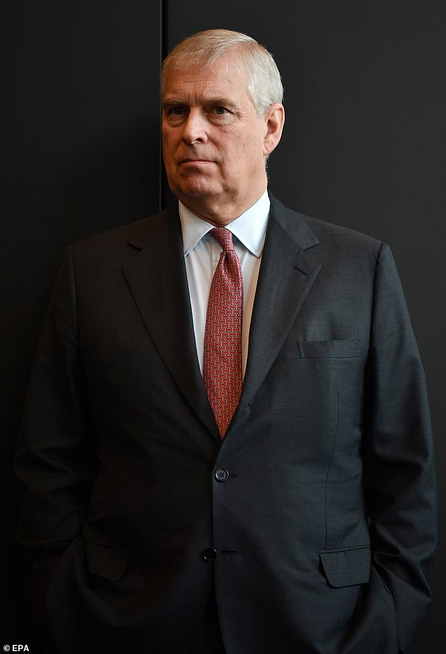 The Duke, pictured in 2018, has strenuously denied allegations of any sexual misconduct, or witnessing any wrong doing, while claiming he would be happy to cooperate with US investigators
