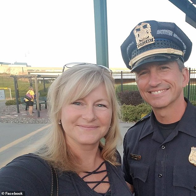 Parizek, shown with his wife, Heather, had been going to that particular location for the past two years but expressed worry that the staff had tampered with his order