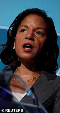 Former National Security Adviser Susan Rice