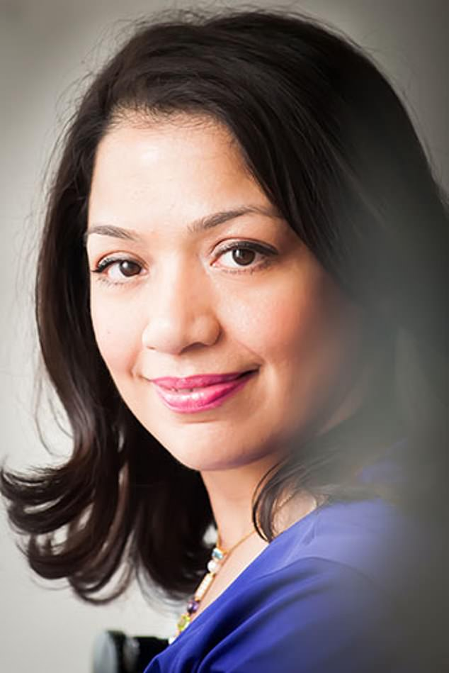 Shazia Malik (pictured) who is a consultant gynaecologist and obstetrician at the Portland Hospital in London, said in the 25 years of doing her job it has been very rare for a woman to say she's had no pain whatsoever