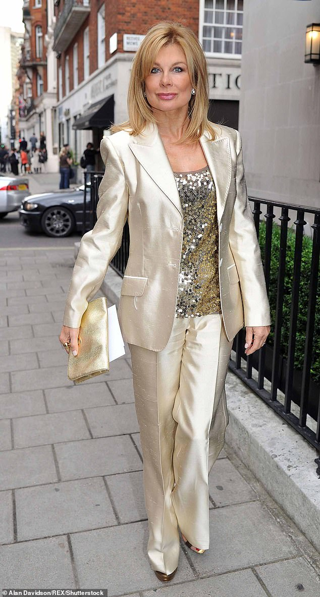 Jilly Johnson at Johnny Gold's 80th Birthday, June 2012, Mayfair, London