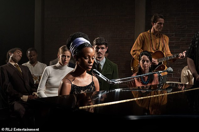 The role:She starred as legendary singer Nina Simone in 2016's biopic Nina, directed by Cynthia Mort, her skin was darkened and she wore a prosthetic nose