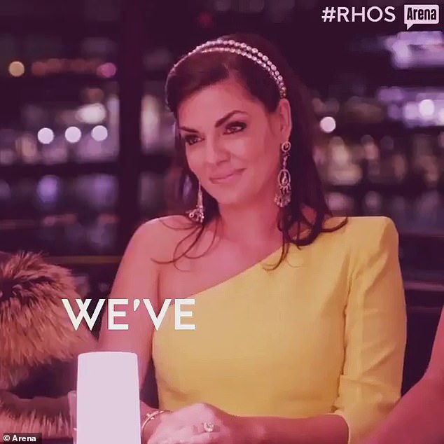 Devastating: On Wednesday, Real Housewives of Sydney star Nicole O'Neil (pictured) shared some heartbreaking images of her family's home in Beirut after being destroyed in the blast - and revealed her uncle was 'blown six metres into the air'