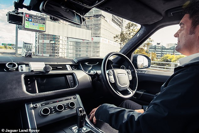 Driverless cars won't make you travel sick: Jaguar Land Rover says it has developed software that coaches autonomous vehicles to drive more smoothly
