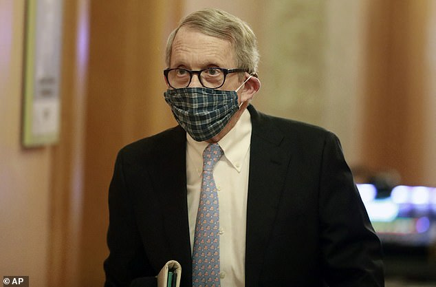 DeWine imposed lockdowns on his state in March as the virus spread. He will quarantine at home for 14 days after his positive test