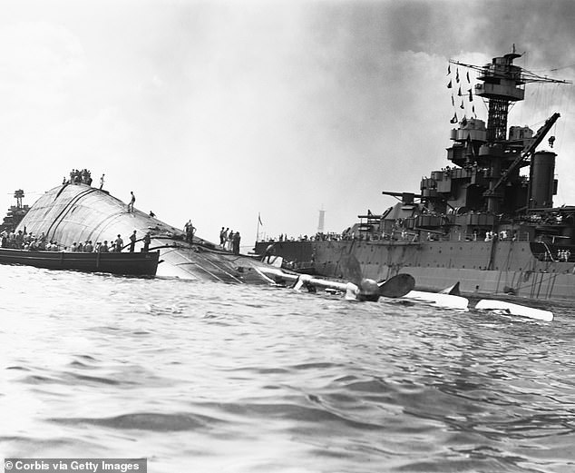 Middleswart was among more than 400 crewman killed on the USS Oklahoma after it was torpedoed several times in an attack at Pearl Harbor by Japan