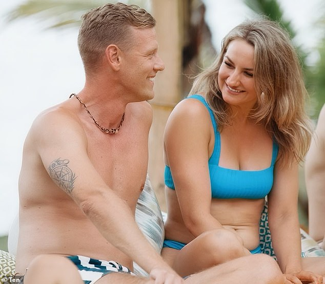 Trouble in paradise: It appears that after Glenn Smith and Alisha Aitken-Radburnthe left Bachelor In Paradise the pair called time on their relationship, with the host of podcast So Dramatic! revealing they both 'hooked up' with different people