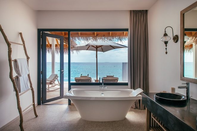 Contemporary architectural design mixes harmoniously with rustic touches, says Design Hotels