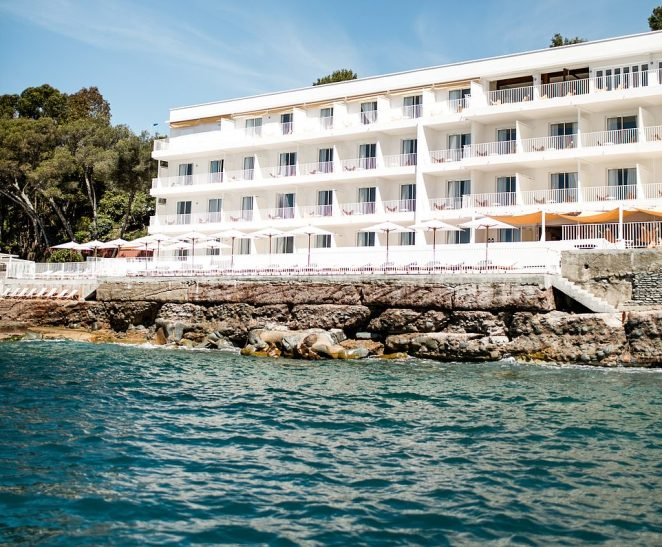It's outrageously cool – a throwback, says Designhotels.com, to 'the classic French Riviera style of the late 1950s/early 1960s'