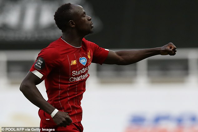 Sadio Mane has also made the list with 18 goals and seven assists in the 2019-20 season