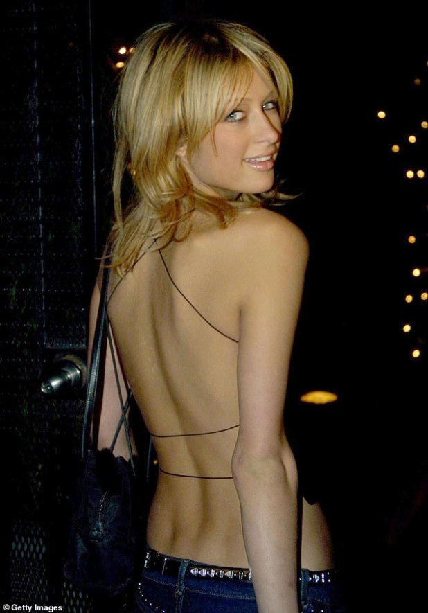 The incident appears to have taken place around the year 2000 when Hilton signed with Donald Trump's modeling agency, T Management, and began her climb to celebrity.  She was 19 at the time and on the verge of becoming a star.  Picture: Hilton in December of 2000