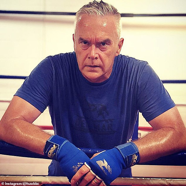 It was only when Huw's mother Aerona warned him that he had ballooned to the same weight as his late father that the broadcaster realised he had to take action - and enlisted the help of champion boxer, Clinton McKenzie