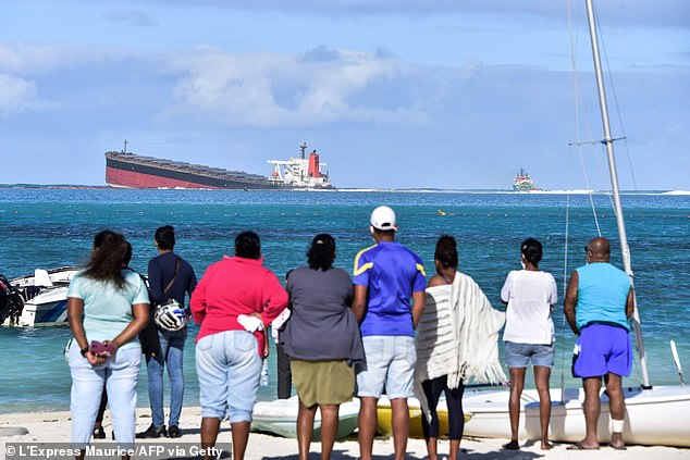 Mauritian Prime Minister Pravind Jugnauth called on France for help as the island nation lacks the skills or expertise to get the ship afloat