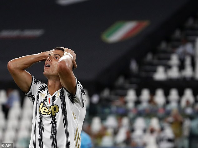 The club won the Serie A title for the ninth season in a row but were beaten by Lyon in Europe