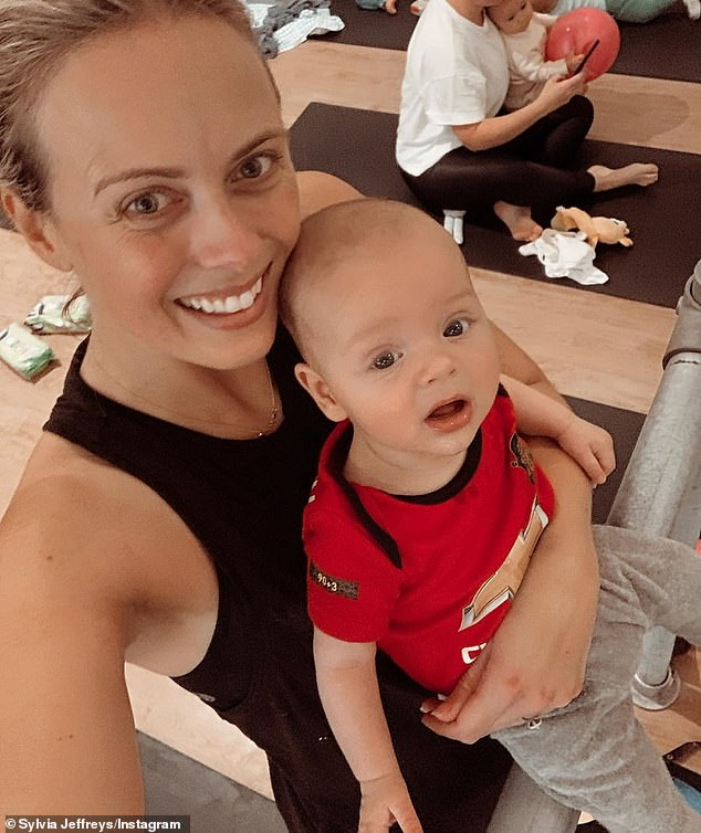 Today Extra host Sylvia Jeffreys shares sweet videos of her son Oscar as they enjoy free time