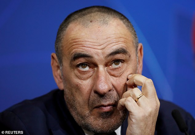 Maurizio Sarri has been sacked after Juventus were dumped out of the Champions League