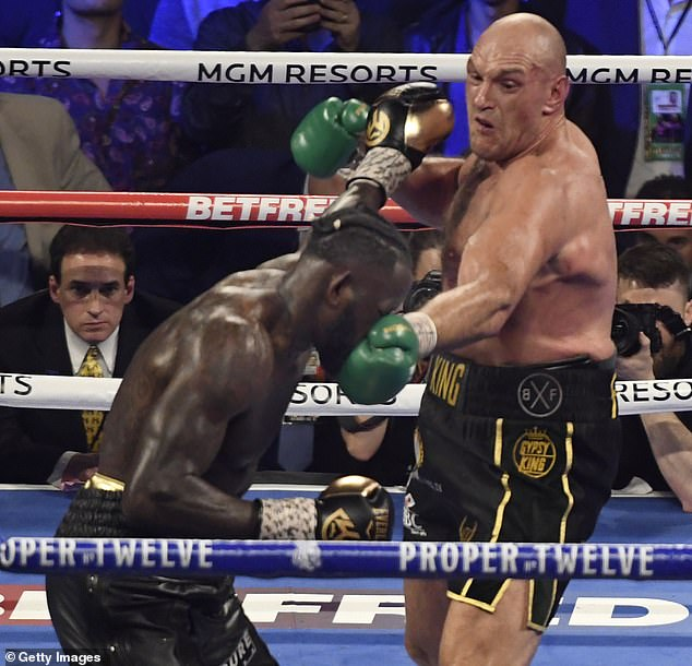 Fury managed to bounce back and get the better of Deontay Wilder in their clash in February