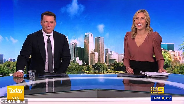 He's back! In November last year, it was announced Karl would be returning alongside Allison Langdon after the show suffered record low ratings under new hosts Deborah Knight and Georgie Gardner