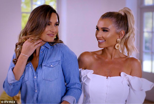 Sister act: The former TOWIE star now has her own reality TV show with her sister called 'Sam & Billie Faiers: The Mummy Diaries' which has been incredibly successful