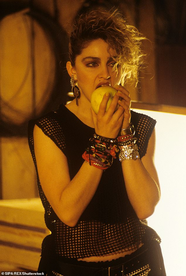 Iconic: She also turned in excellent performances in films such as 1985's Desperately Seeking Susan; seen from around that era