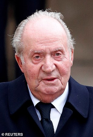 Spain's disgraced former king Juan Carlos was banished from the country by his son
