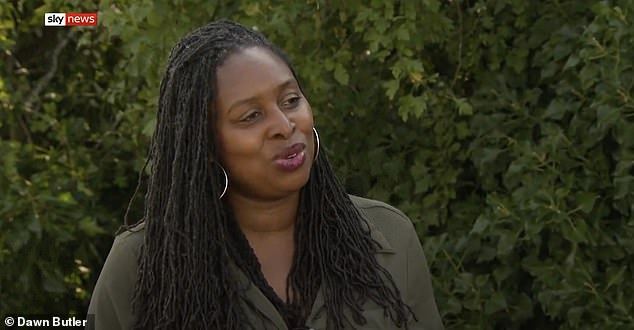 After being left 'irritated and angry', she has branded the Metropolitan Police 'institutionally racist