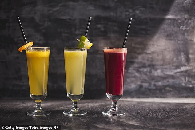 Helen said tequila is the perfect accompaniment to watermelon this summer (file image)