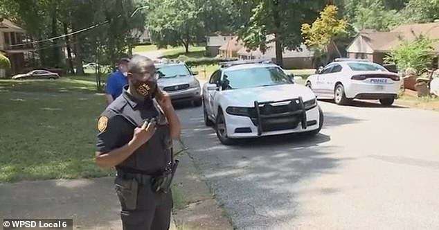 Memphis police, community volunteers and movers were all at Nelson's home Thursday for the eviction.