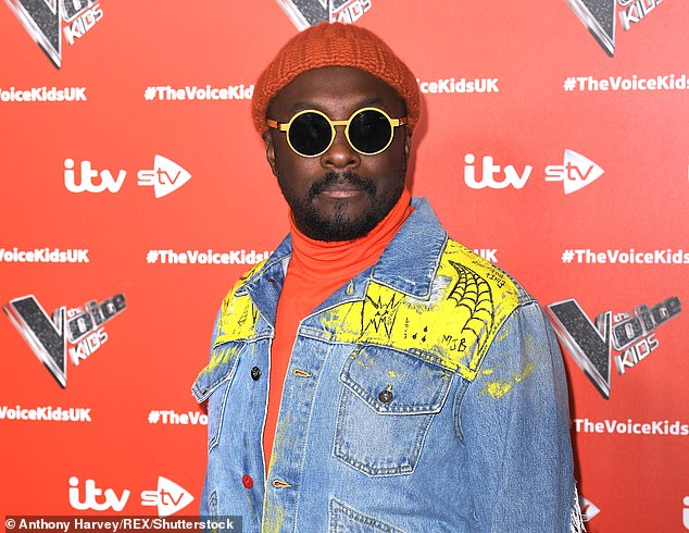 Opinion: The singer went on to say that he doesn't like it when celebrities are pampered and don't do things for themselves (Will.I.Am is pictured in June 2019)