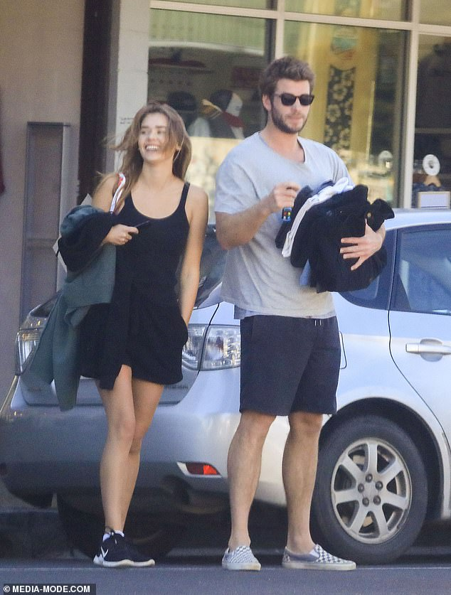 New addition: Liam Hemsworth and Gabriella Brooks have taken their relationship to the next level, adopting a puppy together