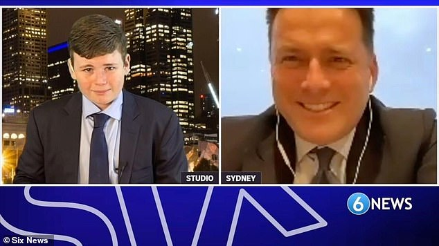 Career move!Karl Stefanovic (right) took on a different kind of news bulletin on Sunday night. The Today show host was a special guest on 6NEWS , a YouTube channel run by Melbourne based Year 7 student Leo Puglisi (left)