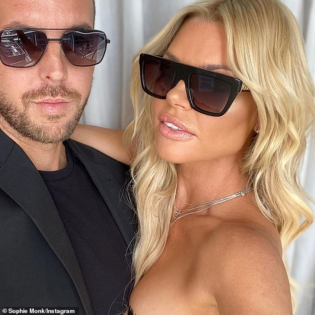 Fancy: The couple met on board an international flight in 2018 before he wined and dined her at LA celebrity hotspot Catch