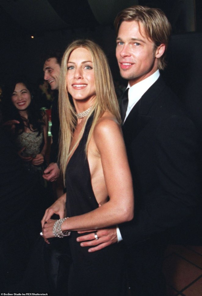 A steal: Brad and Jennifer bought the home for $13.5 million in 2001, a year after the were married, according to The Wall Street Journal; pictured in 2000