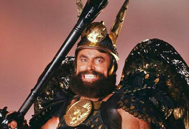 Camp Eighties sci-fi classic Flash Gordon has been revealed to have strong links to the other Queen ¿ Her Majesty. Brian Blessed is pictured above as Prince Vultan