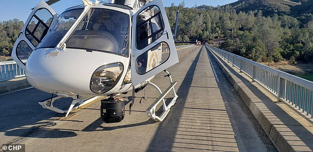 There were two other accidents in which people were injured on Sunday including one where two 18-year-old girls were hurt after jumping off a rock into Lake Berryessa