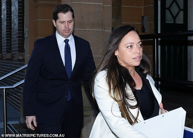 Outside court in June, Phelan's solicitor Ms Chua (pictured) claimed the allegations against her client were 'false' and described them as 'unhelpful to women everywhere'