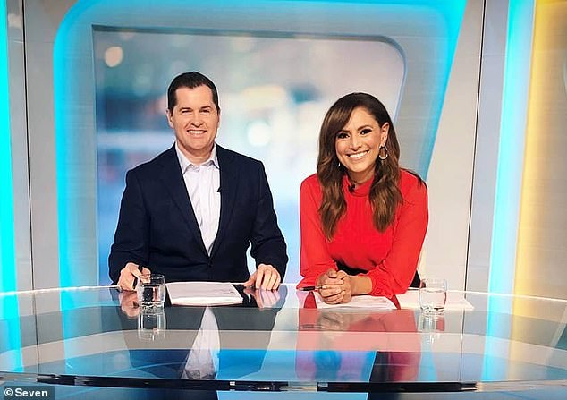 The alleged assault came just days after Phelan lost his job as the host of Channel 7 afternoon program The Daily Edition (Phelan is pictured with former co-host Sally Obermeder)