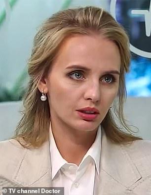 Maria Vorontsova, daughter of Putin