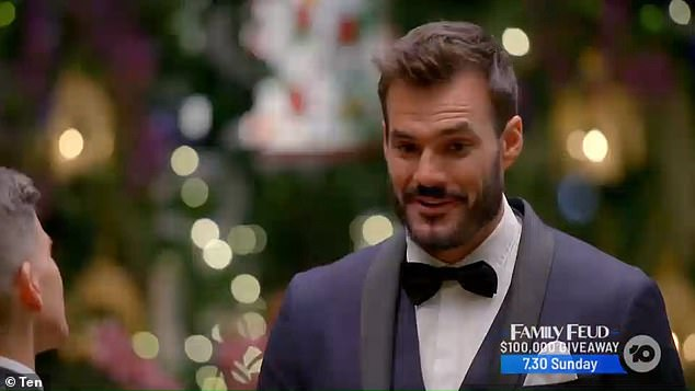 The Bachelor 's Locklan 'Locky' Gilbert journey to find love got off to a dramatic start as he met his stunning line-up of ladies on Wednesday night