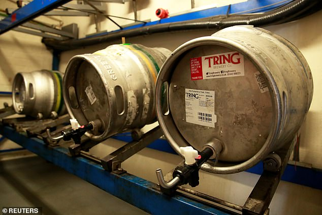 The plant processes sewage and organic industrial waste into biogas, which is then turned into electricity to run the facility. With its high caloric content, beer is an ideal fuel for the water treatment plant's 'digesters'