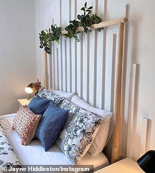 Hundreds who own the bed have shown off photos on Instagram of how they have styled it with eucalyptus, pot plants, lights, decorations and even wisteria