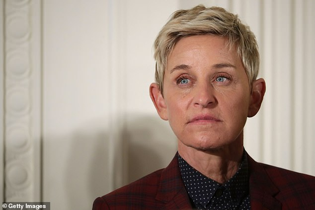 Ex Ellen DeGeneres Show staffer claimed on Australian radio this week that working for the embattled host (pictured) is 'like The Devil Wears Prada' and claimed they weren't 'allowed in the same room as her' - amid the 'toxic' workplace scandal