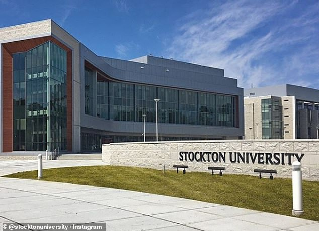 Stockton University (pictured) backed off five of the six student code of conduct charges leveled against doctoral student Robert Dailyda this week but continued to pursue the charge of 'disruptive behavior' against him