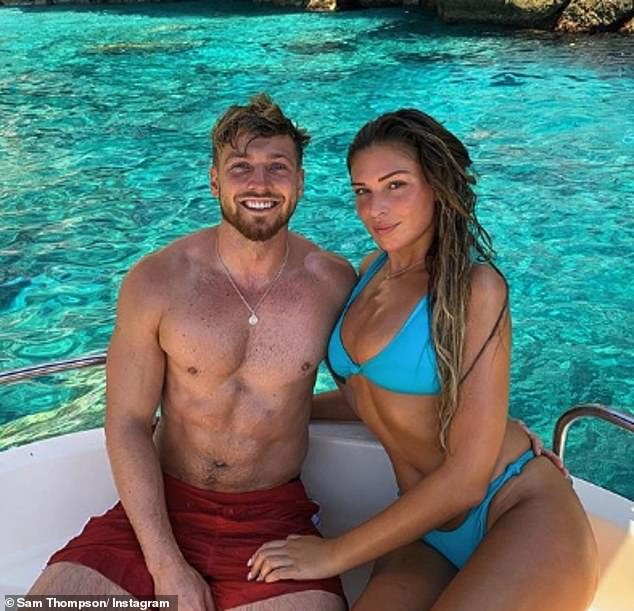 Sam Thompson talks about Zara McDermott's incredible body transformation after 2st weight loss