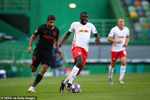 Dayot Upamecano praised after RB Leipzig's Champions League win ...