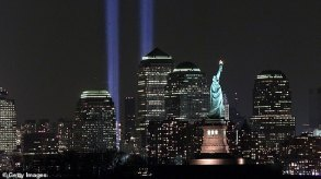 New York City's annual 9/11 light memorial WILL continue thanks to charity  organizers   Daily Mail Online